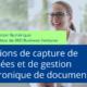Solutions de capture de données et de gestion électronique de documents